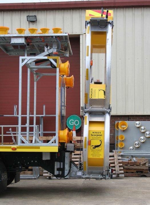 تجهیزات-ایمنی-راه-ها-جاده-بشکه-ترافیکی-بکسل-هشدار-تضعیف-کننده.