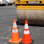 PVC - PE - بشکه ایمنی - بشکه ترافیکی تفاوت -مخروطی - مخروطی ایمنی آزمایش