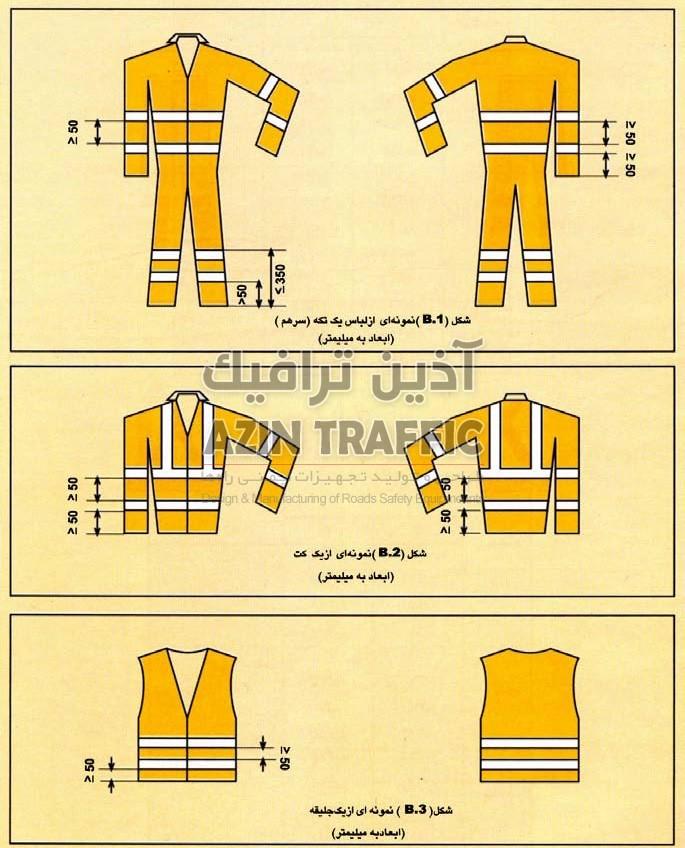 لباس ایمنی- لباس کار - استاندارد