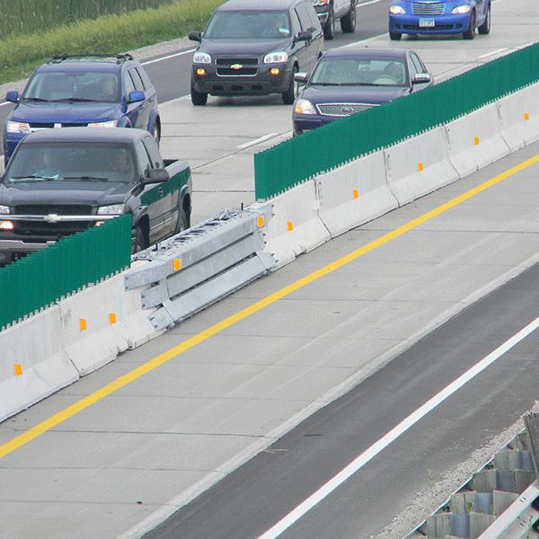 نیوجرسی - ترافیکی - نیوجرسی آهنی - نیوجرسی پلی اتیلن