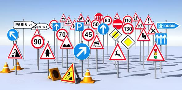 تابلوهای ترافیکی - نصب تابلو - شبرنگ تابلو علائم