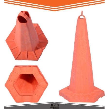 مخروطی 65 سانت پی وی سی شش ضلعی