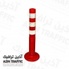 استوانه ایمنی 100 سانتی متری - استوانه ترافیکی - استوانه پلاستیکی - بولارد قیمت استوانه