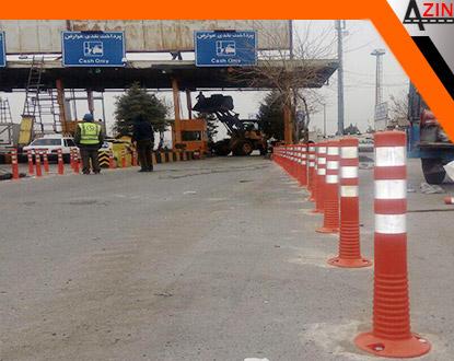 تولید و طراحی و نصب لواز ترافیکی جاده ها