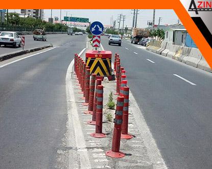 آذین ترافیک - تولید و نصب موانع ترافیکی