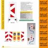 بولارد پلی کربنات 110 سانتیمتری اولوکس EVELUX 12503