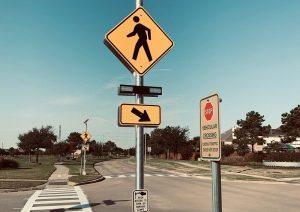 تابلو عابر پیاده - تابلو آگاهی دهنده